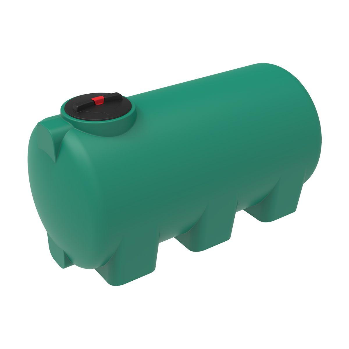 Бак для воды H 1000 литров зеленый