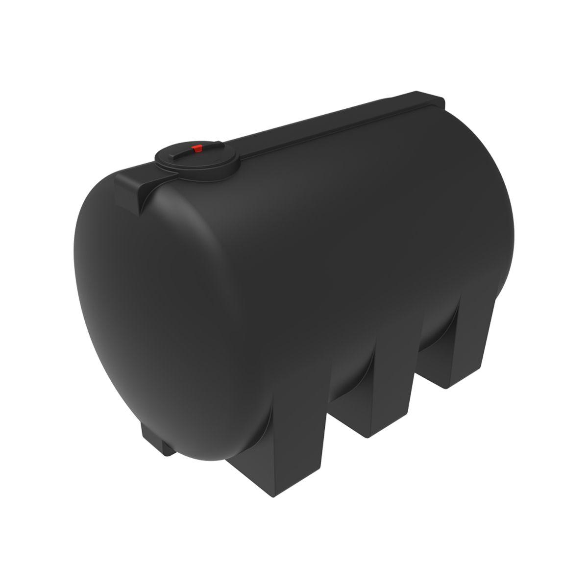 Емкость H 8000 литров черная пластиковая