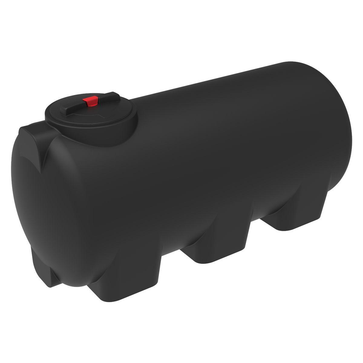 Емкость H 750 литров пластиковая черная