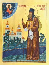Икона  Леонид Устьнедумский  преподобный