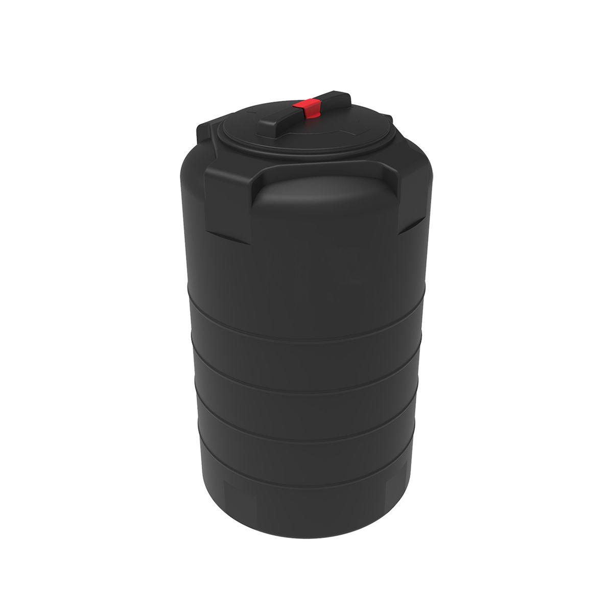 Бак для воды T 200 литров черный