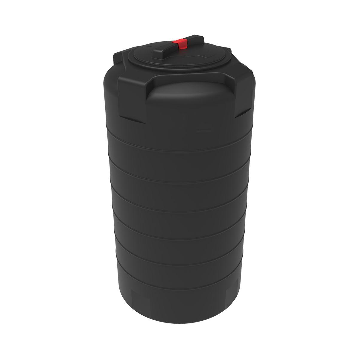 Емкость T 300 литров черная