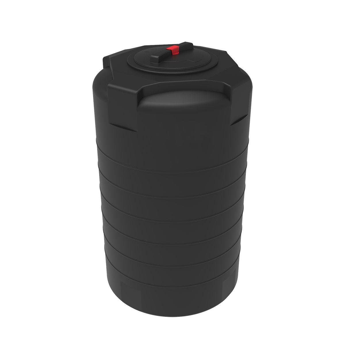 Емкость T 500 литров черная пластиковая