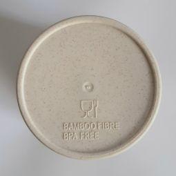стаканы из бамбука с логотипом