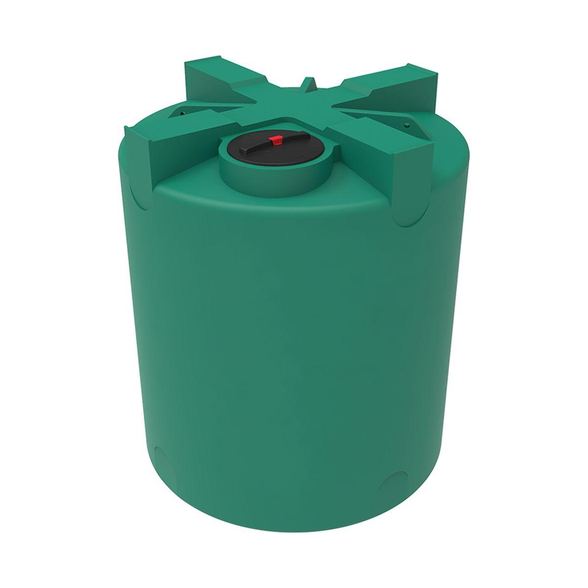 Емкость T 5000 литров зеленая пластиковая