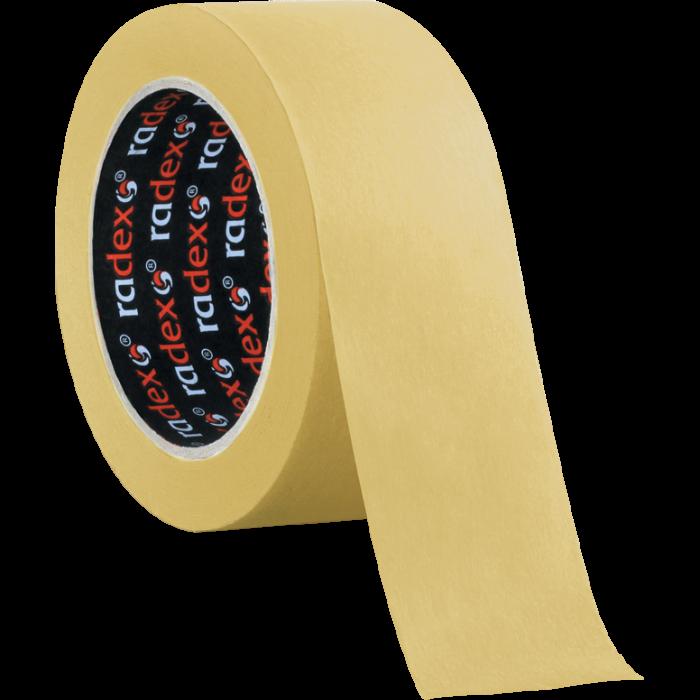 RADEX Малярная лента 80°С, размер 19мм. x 40м., коричневая
