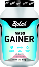BpLab Mass Gainer Strawberry