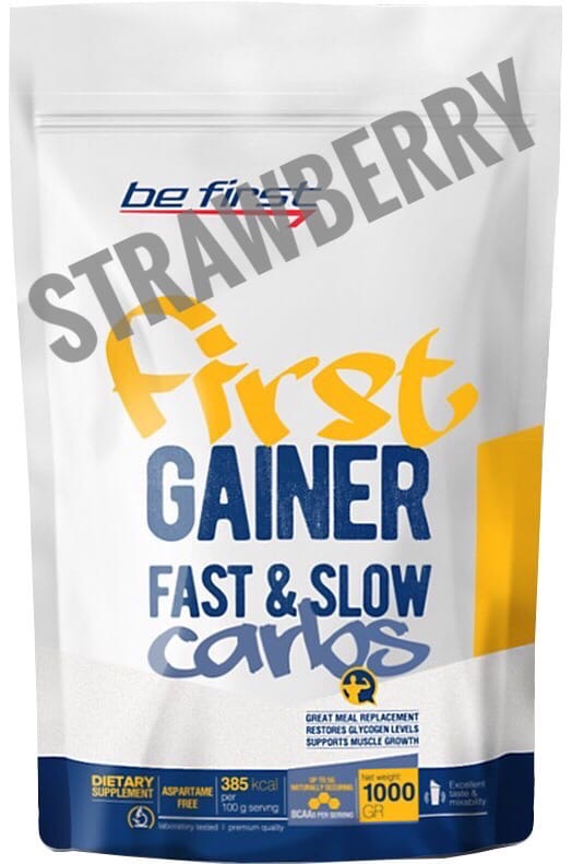 Be First Gainer Fast & Slow Carbs strawberry