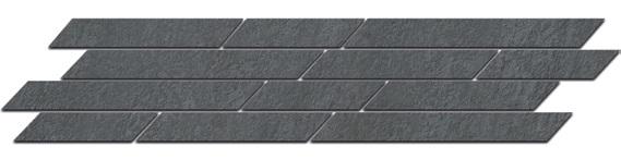 SG144/005 | Бордюр Гренель серый темный мозаичный