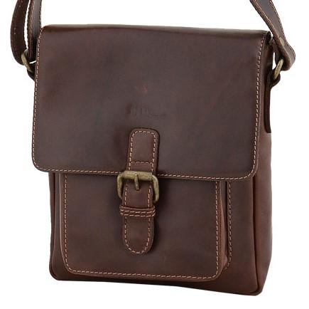 Кожаная мужская сумка Marta Ponti C29P011 Castanho