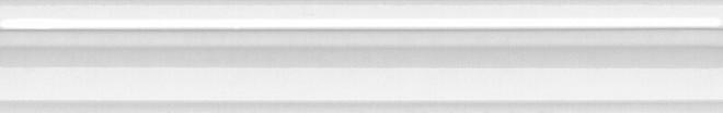 BLC017R | Бордюр Багет Марсо белый обрезной
