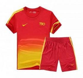 Форма футбольная детская  Nike T90 красная