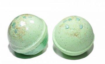 Гейзер (бурлящий шарик) для ванн Новогодний 120g