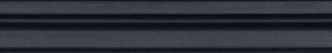 BLC019R | Бордюр Багет Тропикаль чёрный обрезной