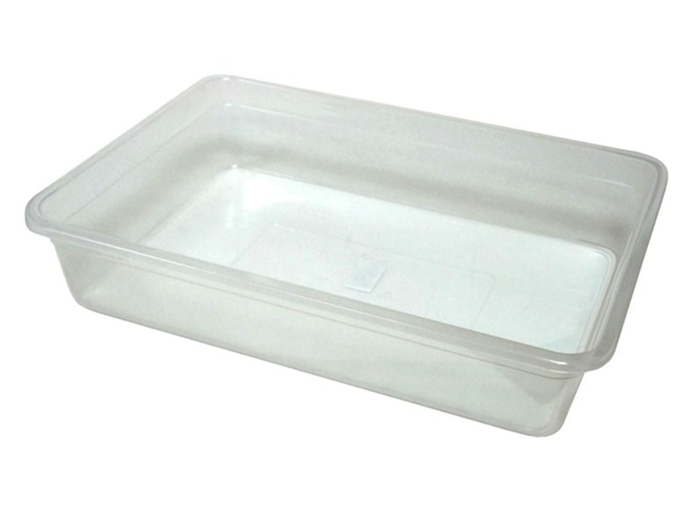 Лоток прозрачный для пищевых продуктов 10л.