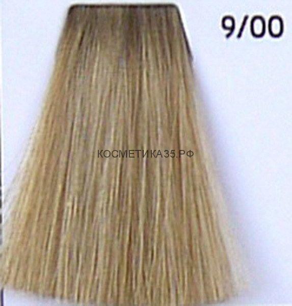 Крем краска для волос 9/00 Блондин интенсивный 100 мл.  Galacticos Professional Metropolis Color