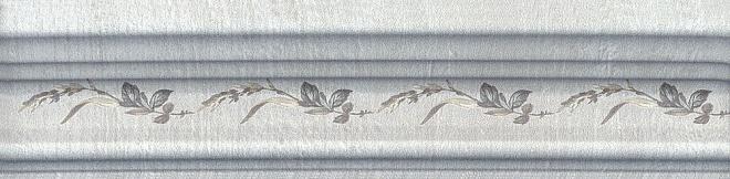 BLB029 | Бордюр Багет Кантри Шик серый декорированный