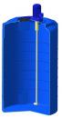 Емкость T 500 с пропеллерной мешалкой