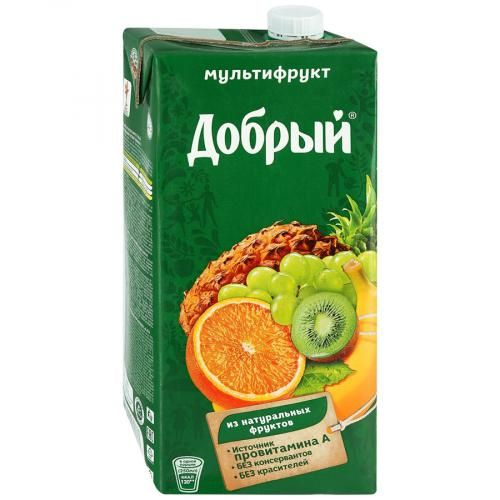 Нектар ДОБРЫЙ Мультифрут, 2л