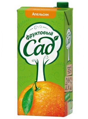 Нектар ФРУКТОВЫЙ САД Апельсин, 1,93л