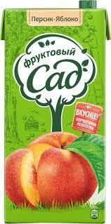 Нектар ФРУКТОВЫЙ САД Яблоко-персик, 1,93 л