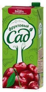 Нектар ФРУКТОВЫЙ САД вишня/яблоко/рябина, 1,93л