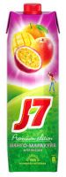 Нектар J7 апельсин/манго/маракуйя, 0,97л
