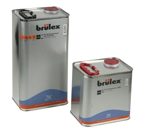 Brulex 2K-HS-Премиум Прозрачный лак 5 л + 2К отвердитель