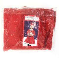 Костюм снегурочки для девочки, Цвет Красный (3)