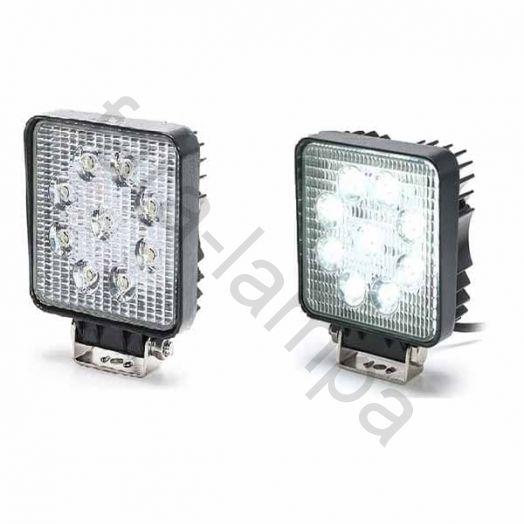 Комплект светодиодных фар мощностью 54 ватт