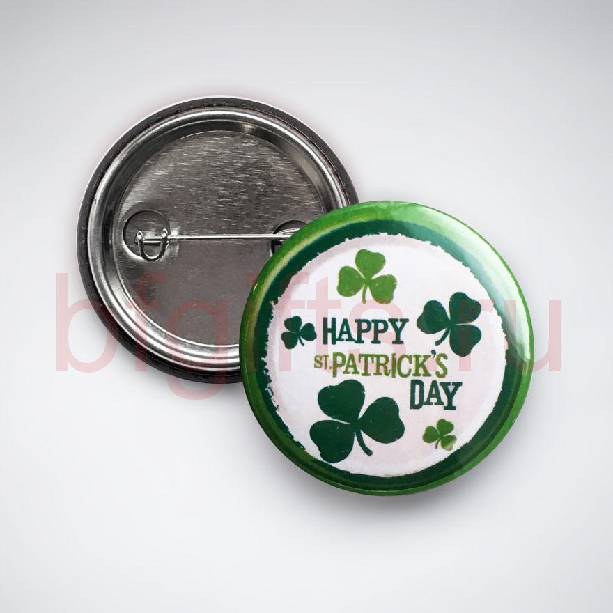 Значок Happy St. Patrick's day