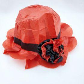 """Bonnet Hat Tear - Комедийный фокус """"Шляпа"""" - 1 штука"""