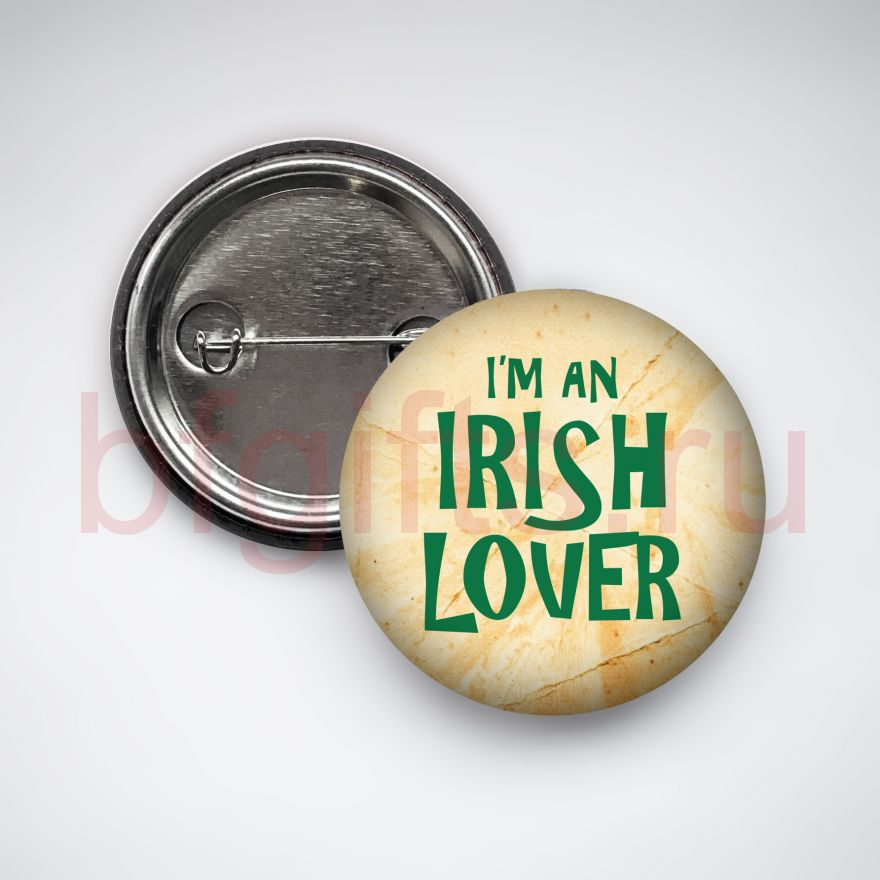 Значок I'm an irish lover