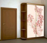 Наклейка на шкаф - Вуаль весны | магазин Интерьерные наклейки