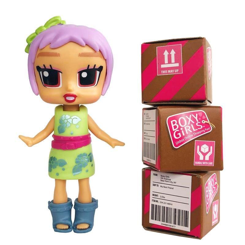 1toy Кукла 1TOY Boxy Girls MINI 8 см с аксессуарами в 1 коробочке, Bee