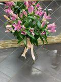 Букет из 7 лилий розовых