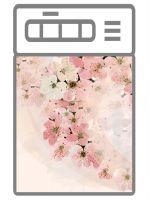 Наклейка на посудомоечную машину - Вуаль весны | магазин Интерьерные наклейки