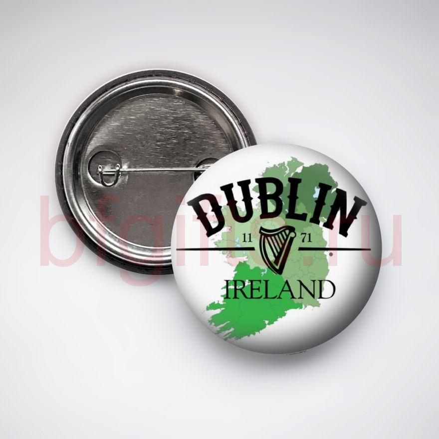 Значок Дублин