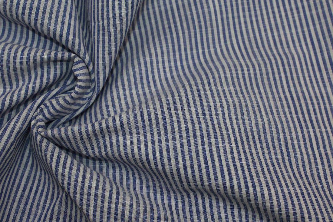 Рубашечная ткань полоска 7181/D2/C#3