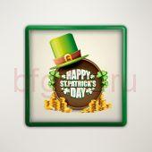 Магнит на холодильник Ирландский St.Patrick's day