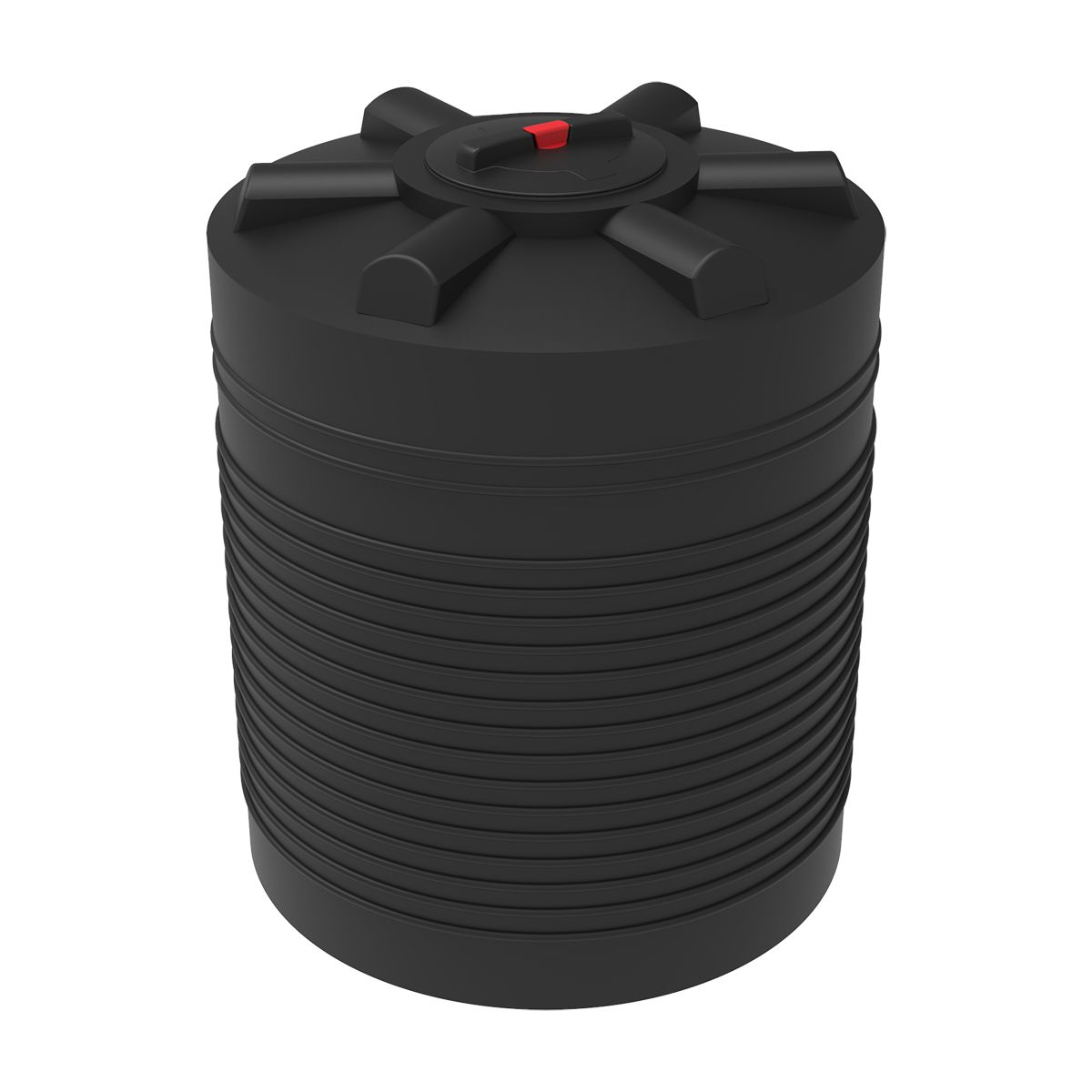 Бак для воды 750 литров ЭВЛ черный пластиковый