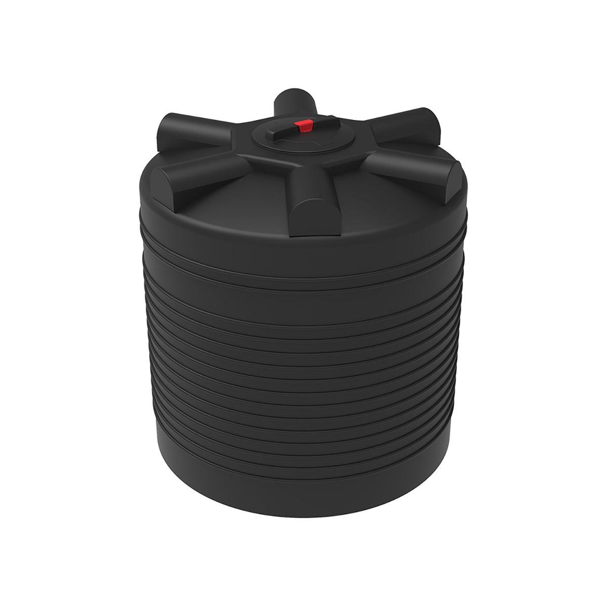 Бак для воды 1000 литров ЭВЛ черный пластиковый
