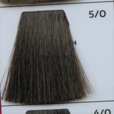 Крем краска для волос- 5/0 Светлый Шатен 100 мл. Light Brown Galacticos Professional Metropolis Color