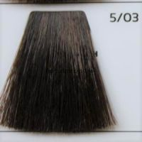 Крем краска для волос- 5/03 Светлый Шатен Золотистый Интенсивный 100 мл. Intens Light Brown Galacticos Professional Metropolis Color