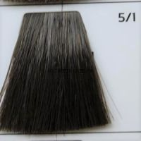 Крем краска для волос 5/1 Светлый Шатен пепельный 100 мл.  Light Brown ash Galacticos Professional Metropolis Color