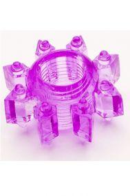 Эрекционное кольцо Toyfa фиолетовое