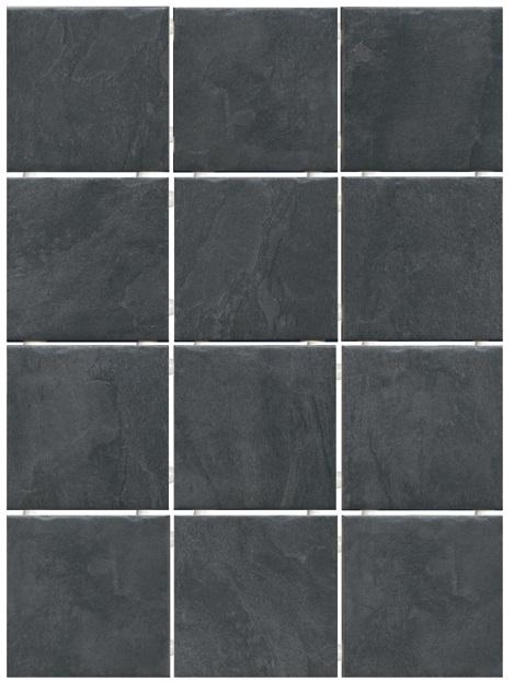 1301 | Дегре чёрный, полотно 29,8х39,8 из 12 частей 9,8x9,8