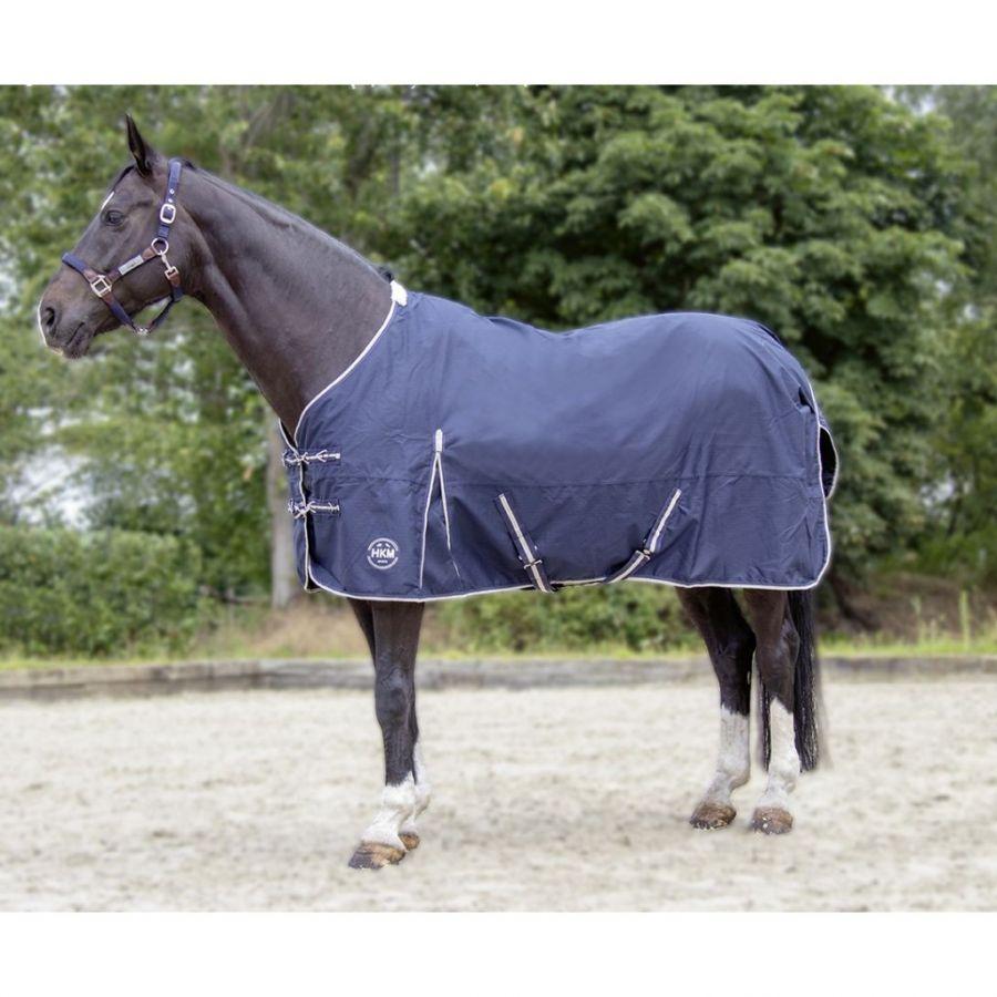 Непромокаемая зимняя попона -Eco-Light- Ткань 600 DEN. Утеплитель 100 гр/м. HKM