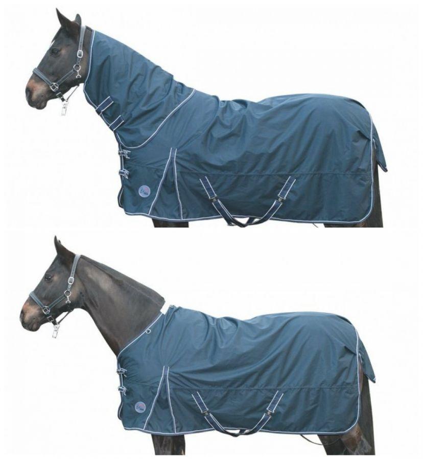 Непромокаемая зимняя попона с полной шеей -Starter- Ткань 600 DEN. Утеплитель 100 гр HKM