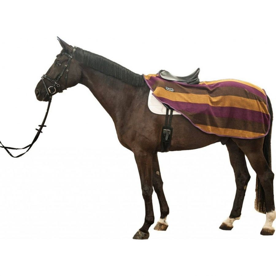 Полупопона флисовая под седло -Colour stripes- HKM